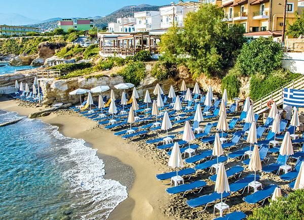 Пляжный отдых от Итаки на острове Крит #1