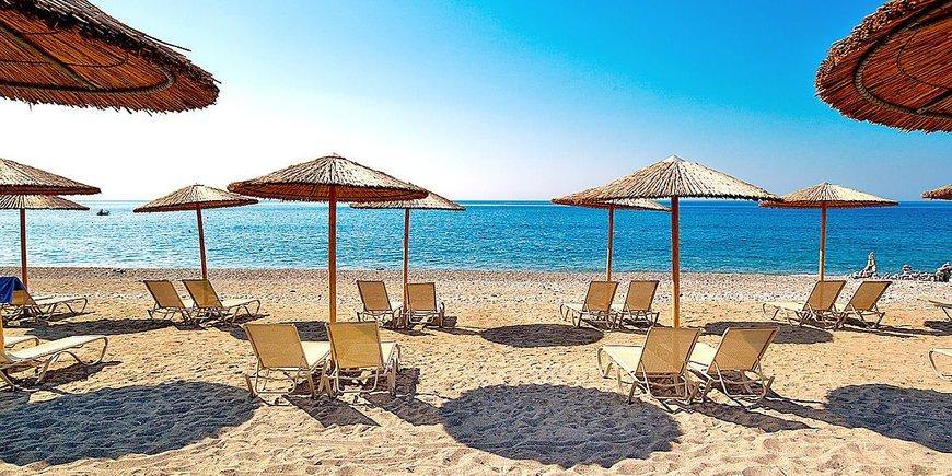 Пляжный отдых от Итаки на острове Родос